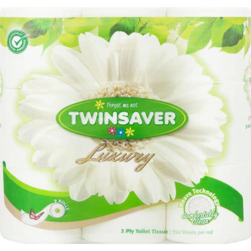 2 Ply Toilet Tissue Rolls White 9 Test