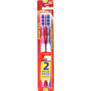 Double Action Toothbrushes Medium 2 Pack