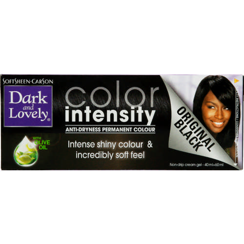 Colour Intensity Anti-Dryness Permanent Colour Original Black