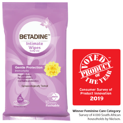 Intimate Wipes 10 Wipes