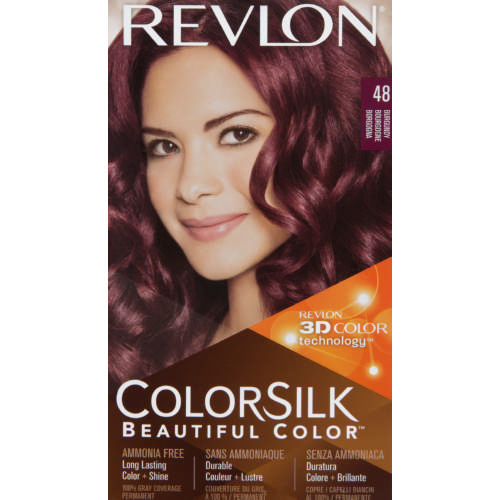 Revlon Colorsilk Hair Colour Burgundy Clicks