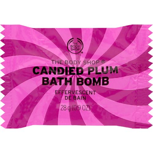 Candied Plum Bath Fizzer 28g