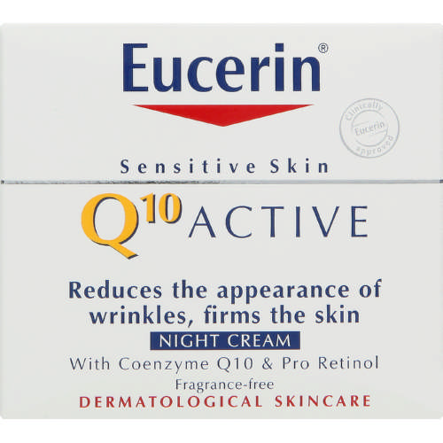 Q10 Active Anti-Wrinkle Night Cream 50ml