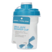 Total Lean Jaxx Shaker Cup Blue