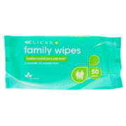 Family Wipes 50 Wipes