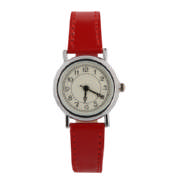 Ladies Watch Spice Red & Silver