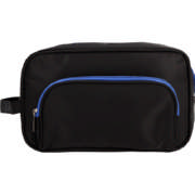 Mens Toiletry Bag Black Large