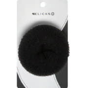 Essentials Large Hair Donut Black