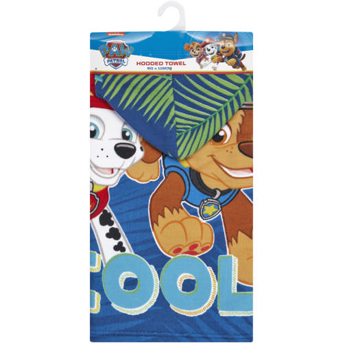 Boys Hooded Towel Blue