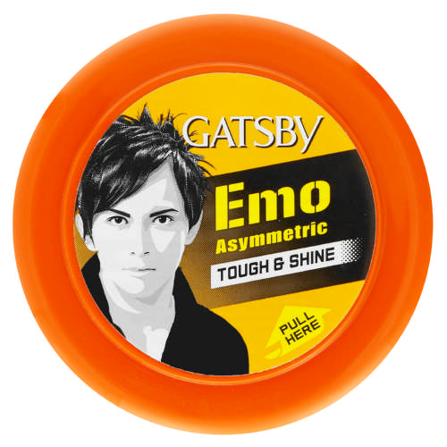 Emo Asymmetric Tough Touch & Shine Wax 75g