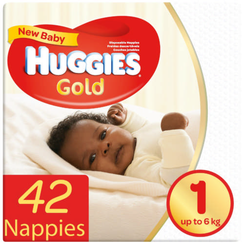 New Baby Gold Size 1 42 Nappies