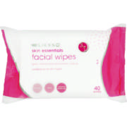 Skin Essentials 3-in-1 Facial Wipes All Skin Types 40 Wipes