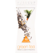 Pyramid Tea Bags Greentea Ginger & Pinapple