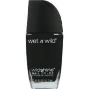 Wild Shine Nail Color Black Creme 12.7ml