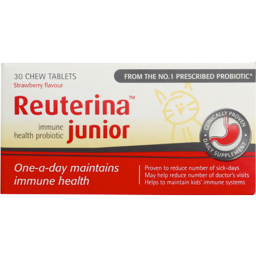 Junior Immune Health Probiotic Strawberry 30 Chew Tablets