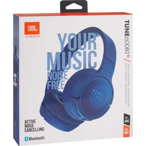 a0a8dc6634d JBL T600 Bluetooth Noise Cancelling On Ear Headphones Blue - Clicks