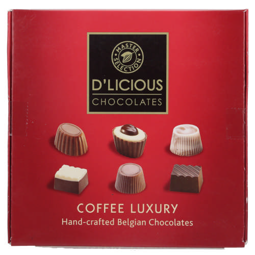 Hand-Crafted Belgian Coffee Luxury 68g