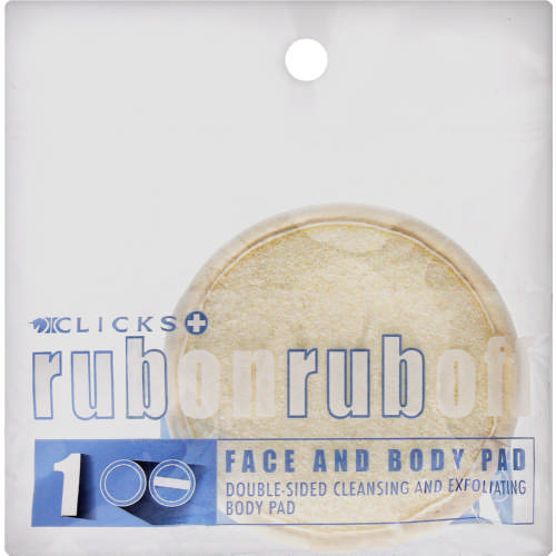 Cream Nylon Facial Pad