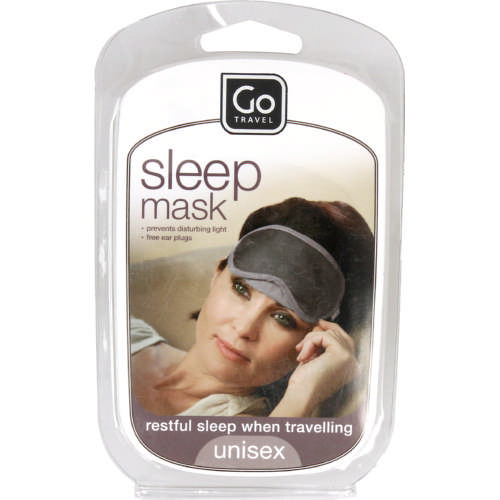 Sleep Mask And Ear Plugs