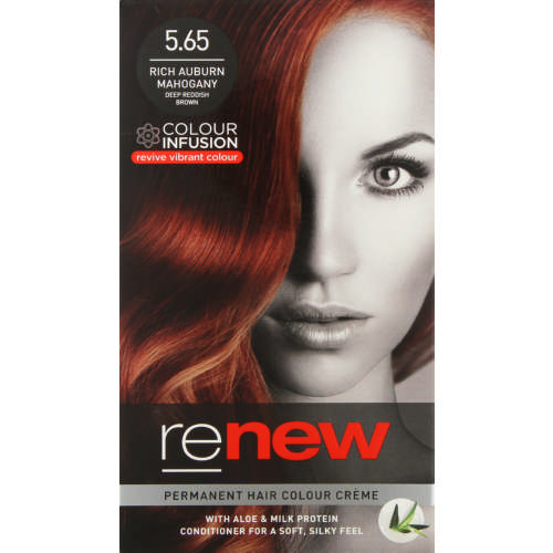 Colour Infusion Permanent Hair Colour Creme Rich Auburn Mahogany 5.65