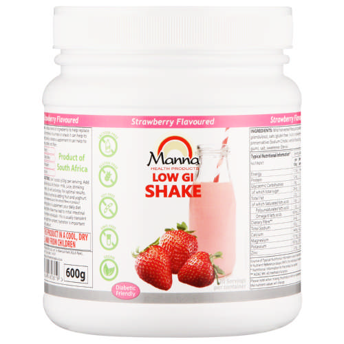 Low GI Shake Strawberry 600g