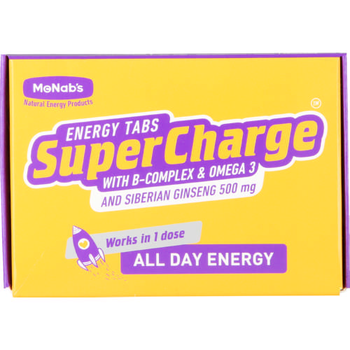 Supercharge Energy Tabs 5 Sachets
