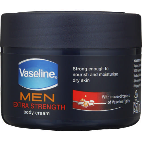Men Body Cream Extra Strength 250ml