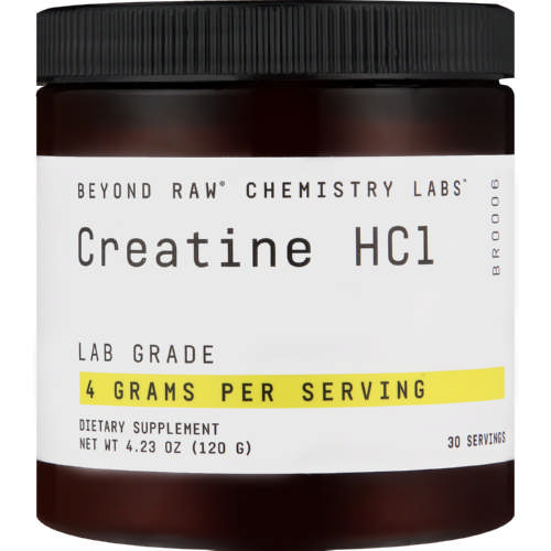 Beyond Raw Chemistry Labs Creatine HCL 120g