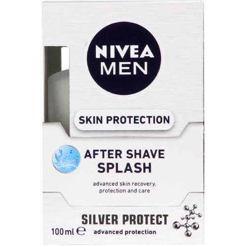 nivea men skin protection after shave splash 100ml clicks