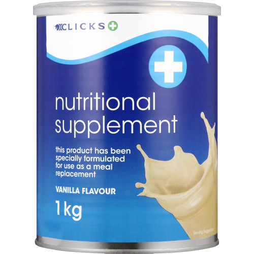 Nutritional Supplement Vanilla 1kg