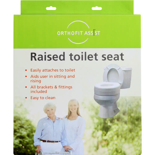 Assist Raised Toilet Seat