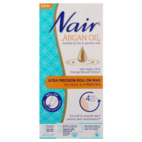 Argan Oil Ultra Precision Roll On Wax For Face And Eyebrows Test
