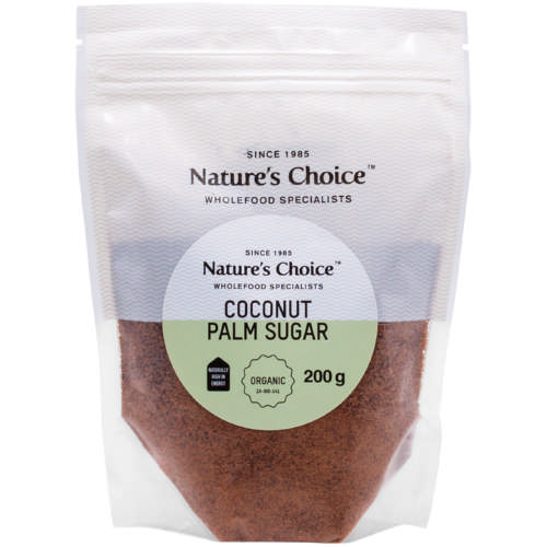 Organic Coconut Palm Sugar 200g