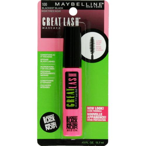 cacc58e8b92 Maybelline Great Lash Mascara 100 Blackest Black 12.7ml - Clicks