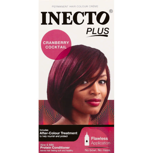 Plus Permanent Hair Colour Creme Cranberry