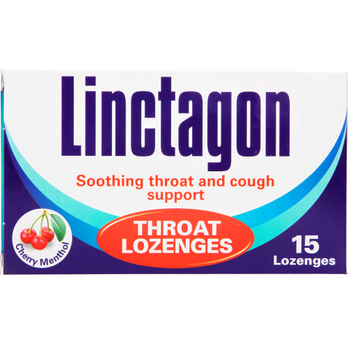 Throat Lozenges Cherry 15 Lozenges
