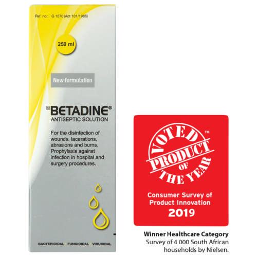 Betadine Antiseptic Solution 250ml - Clicks
