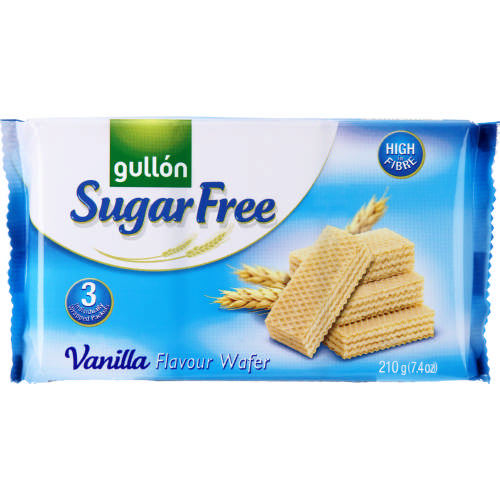 Sugar Free Wafer Vanilla 210g