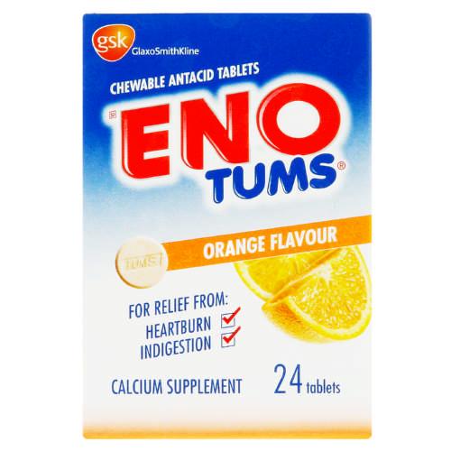 ENO Tums Orange 24 Tablets