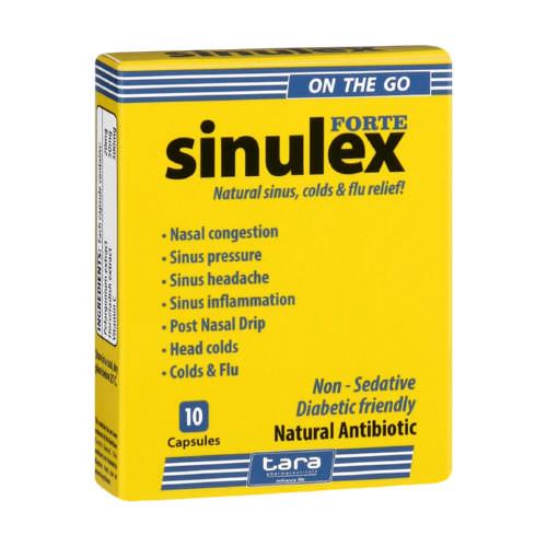 Sinulex On The Go Capsules 10 Capsules Clicks