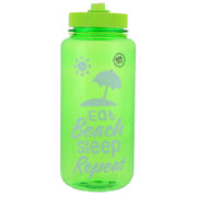 Beach Slogan Bottle Assorted Colours 900ml
