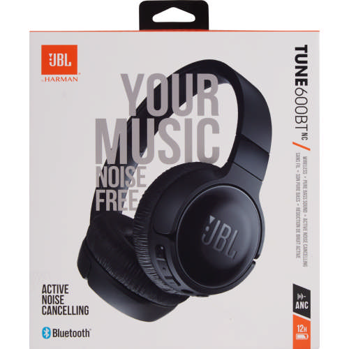 695cd02e9a5 JBL T600 Bluetooth Noise Cancelling On Ear Headphones Black - Clicks