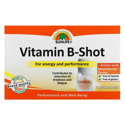 Vitamin B Shot 7 Drink Bottles