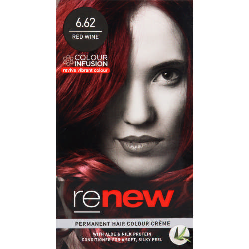 Colour Infusion Permanent Hair Colour Creme Red Wine 6.62