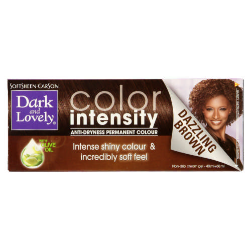 Color Intensity Anti-Dryness Permanent Colour Dazzling Brown 1 Application