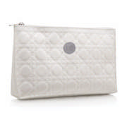 Quilted Toiletry Bag Cream