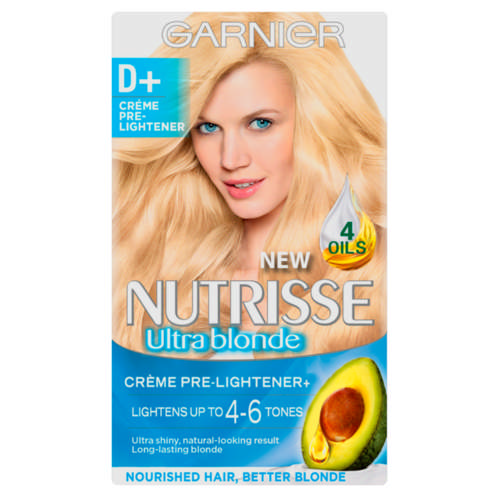 Nutrisse Truly Blonde Permanent Nourishing Hair Colour Truly Blonde Creme Pre-Lightener
