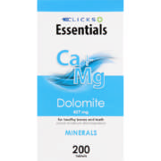 Healthbasics Dolomite With Calcium And Magnesium 200 Tablets