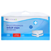 Incontinence Adult Slips Super Medium 28 Slips