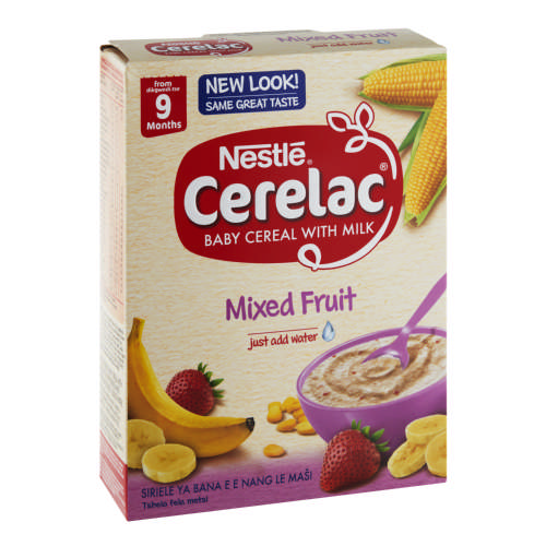 Nestle Cerelac Baby Cereal With Milk Mixed Fruit 250g